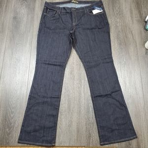 NWT Old Navy Diva bootcut jean 16L